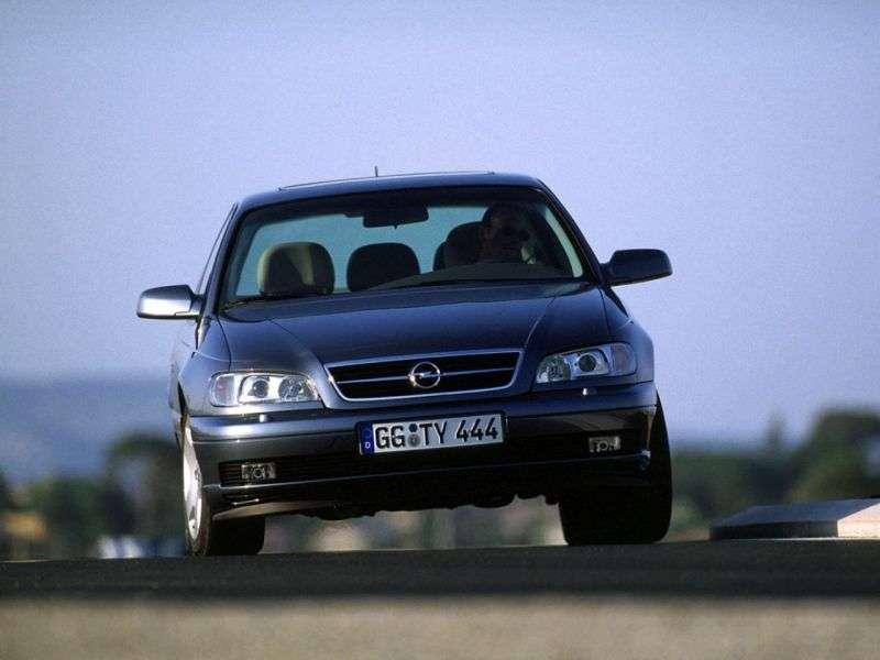 Opel Omega B [restyling] 2.5 DTI AT sedan (2001–2003)
