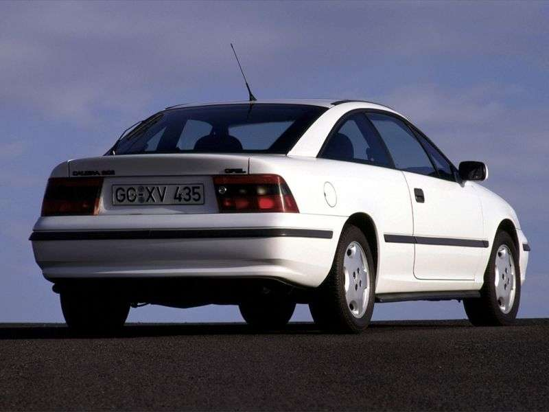 Opel Calibra 1st generation coupe 2.0 MT (1990–1996)