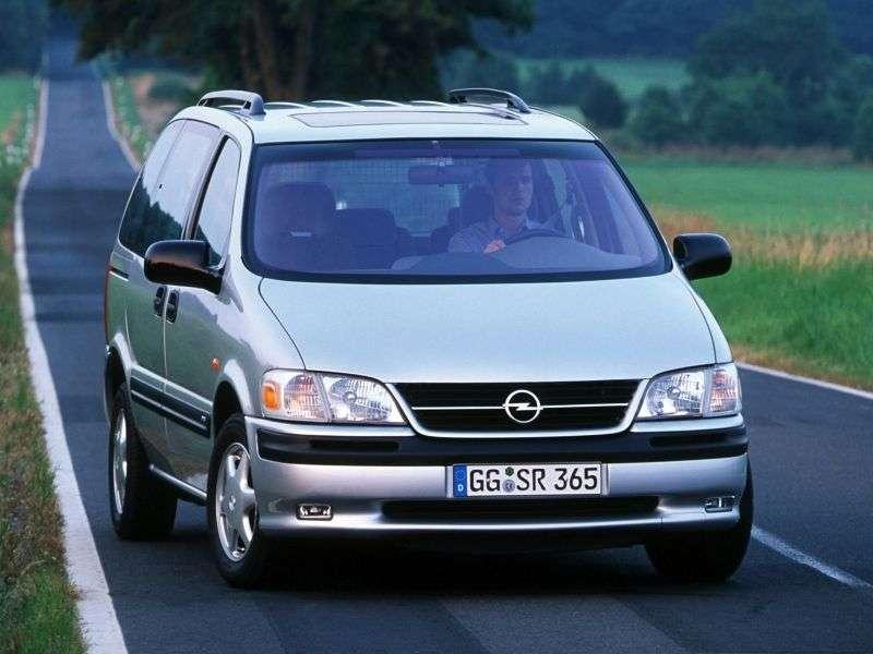 Opel Sintra 1st generation minivan 3.0 AT (1996–1999)