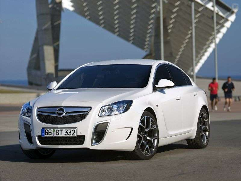 Opel Insignia 1st generation OPC 4 door sedan. 2.8 Turbo AT 4x4 OPC (2009 – n. In.)