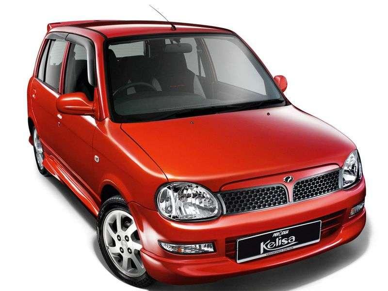 Perodua Kelisa 1st generation hatchback 1.0 MT (2002 – n.)