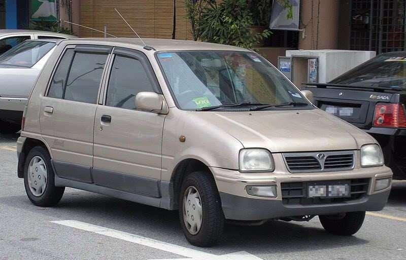 Perodua Nippa hatchback 1.generacji 0.7 MT (1998 obecnie)