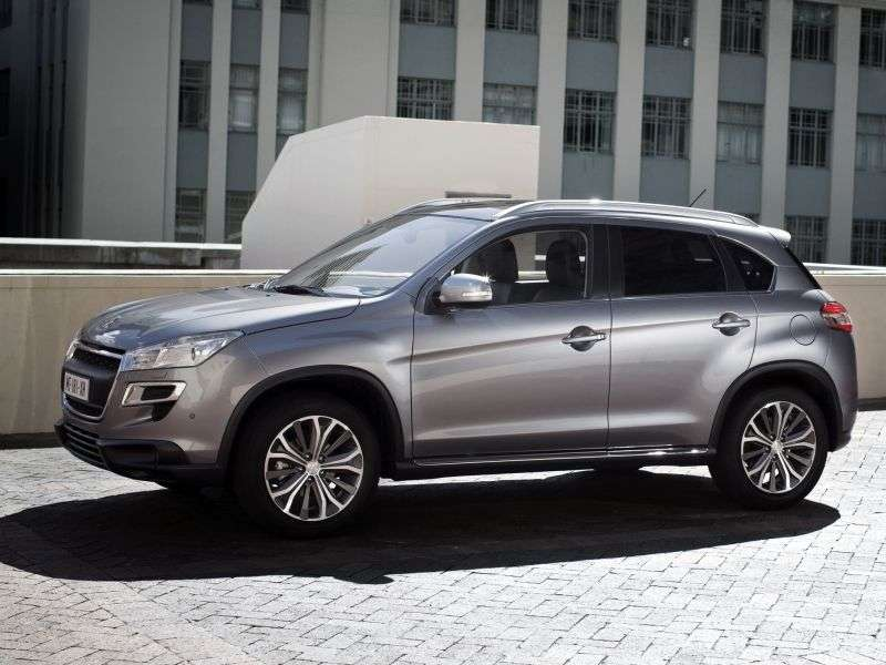 Peugeot 4008 1st Generation Crossover 2.0 CVT 4WD Access (2013) (2012 – current century)