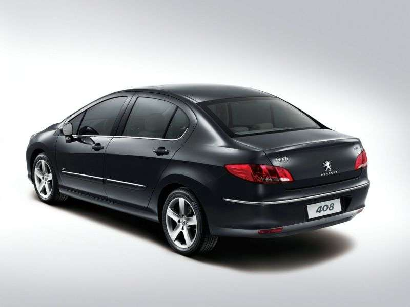 Peugeot 408 1st generation sedan 1.6 VTi AT Active (2013) (2012 – n.)