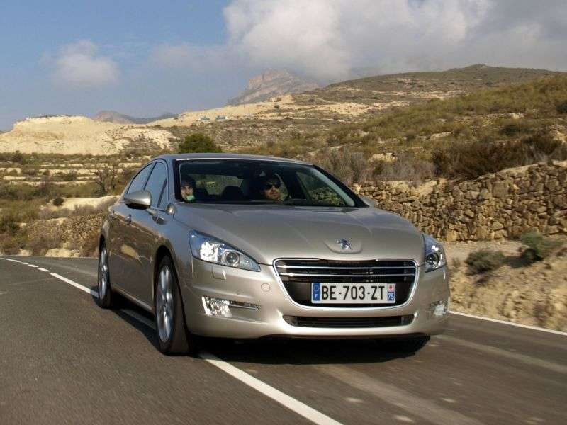 Peugeot 508 1st generation sedan 1.6 THP AT Active (2012) (2010 – n.)