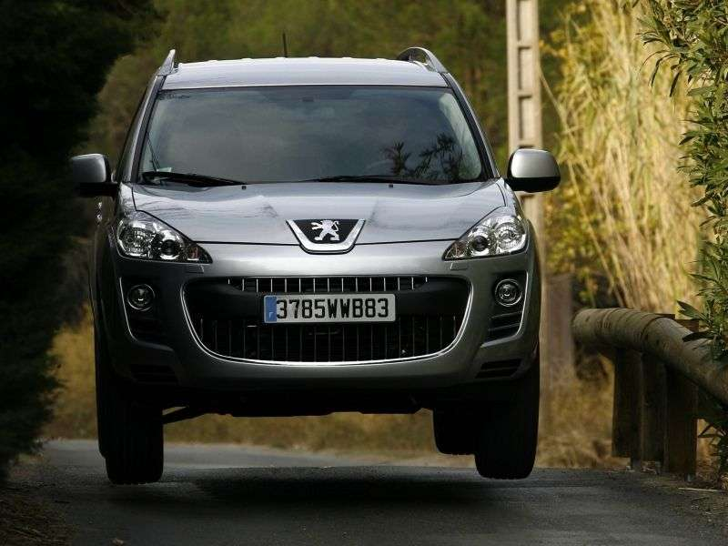 Peugeot 4007 1st Generation Crossover 2.0 MT 4x2 Access (2012) (2007 – n.)