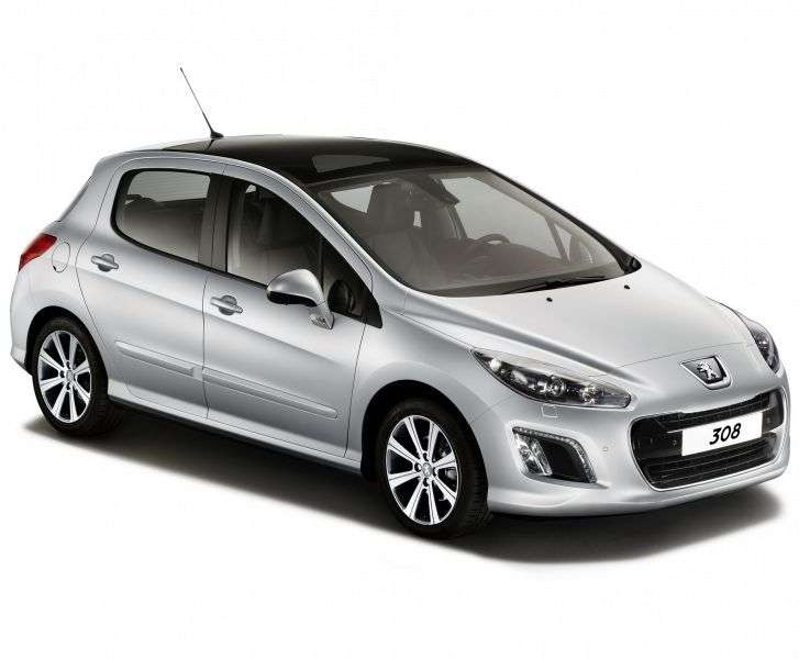 Peugeot 308 1st generation [restyled] hatchback 1.6 THP AT Allure (2013) (2011 – n.)