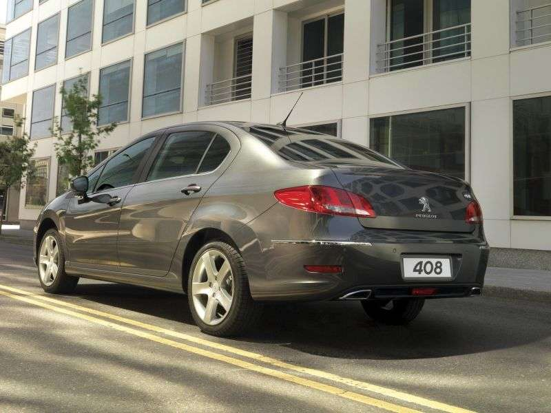 Peugeot 408 1st generation sedan 1.6 VTi MT Allure (2012) (2012 – n.)