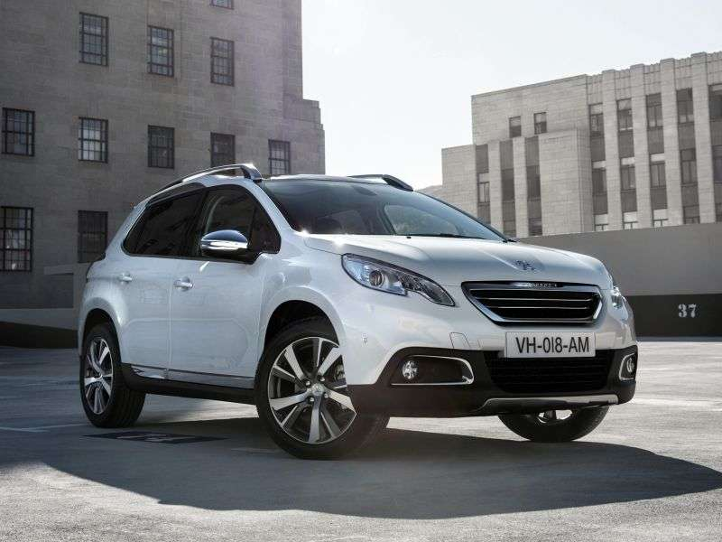 Peugeot 2008 1st generation crossover 1.4 HDi FAP MT (2013 – n.)