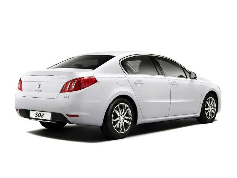 Peugeot 508 1st generation 2.2 HDi AT GT Sedan (2012) (2010 – n.)