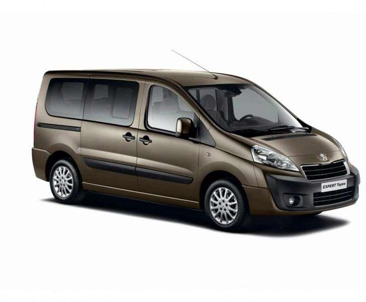 Peugeot Expert 2nd generation [restyled] minivan 2.0 HDi MT Base (2012 – n.)