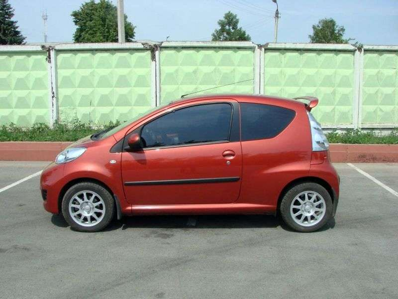 Peugeot 107 1st generation [restyling] 3 bit hatchback 1.0 MT Active (2008–2012)