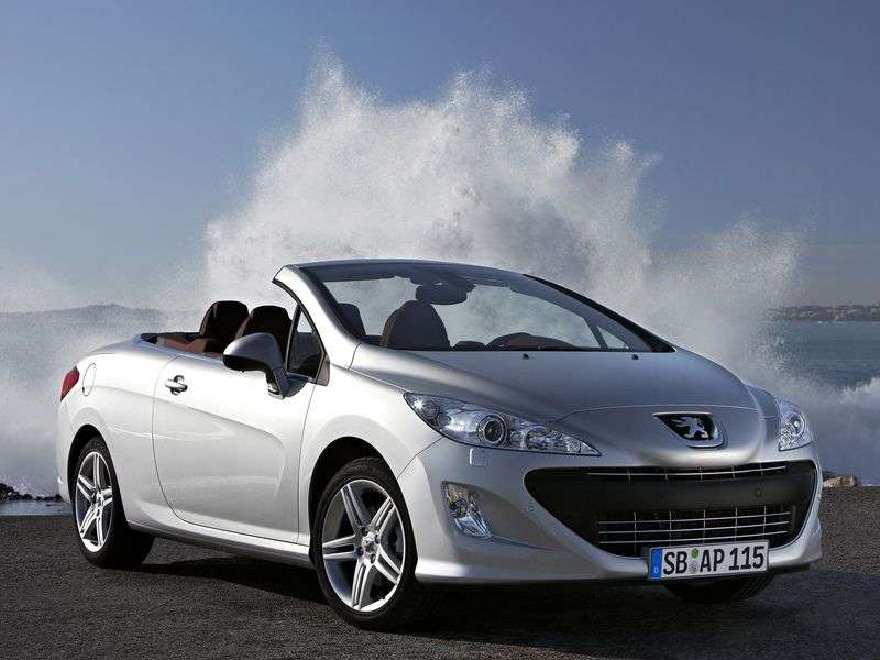 Peugeot 308 1st generation 1.6 D MT convertible (2009–2011)