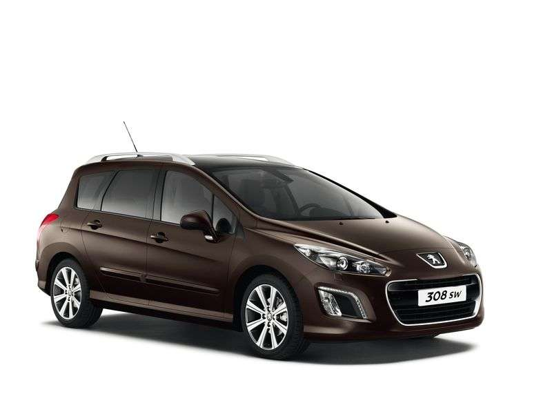 Peugeot 308 1st generation [restyled] wagon 1.6 MT Active (2011–2012)