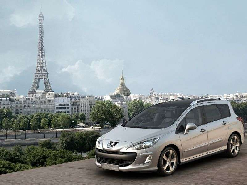 Peugeot 308 1st generation [restyled] wagon 1.6 THP AT Allure (2011–2012)