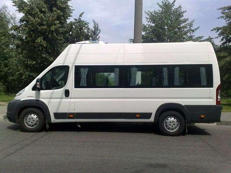 Peugeot Boxer 2nd generation Minivan 2.2 HDI MT Basic (2006–2012)