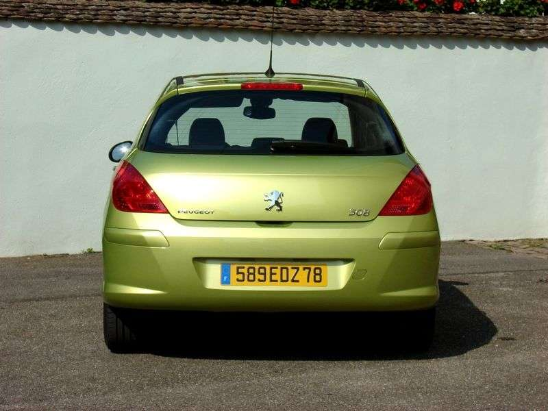 Peugeot 308 1st generation hatchback 5 dv. 1.6 MT (2007–2010)