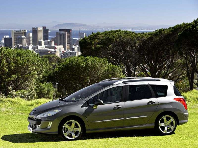 Peugeot 308 1st generation wagon 2.0 HDi AT (2009–2011)