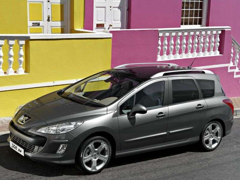 Peugeot 308 1st generation [restyling] wagon 1.6 MT Access (2011–2012)