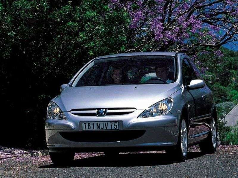 Peugeot 307 1st generation hatchback 3 dv. 1.6 MT (2001–2005)