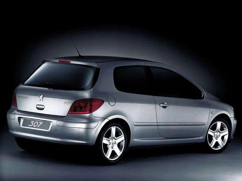 Peugeot 307 1st generation hatchback 3 dv. 2.0 AT (2001–2005)