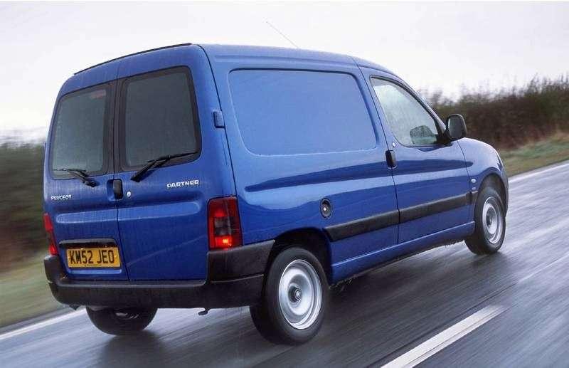 Peugeot Partner OriginVU van 4 dv. 1.4 MT Basic (2002–2012)