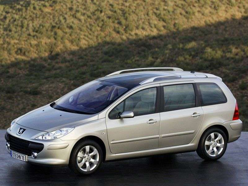 Peugeot 307 1st generation [restyled] station wagon 2.0 AT (2005–2008)