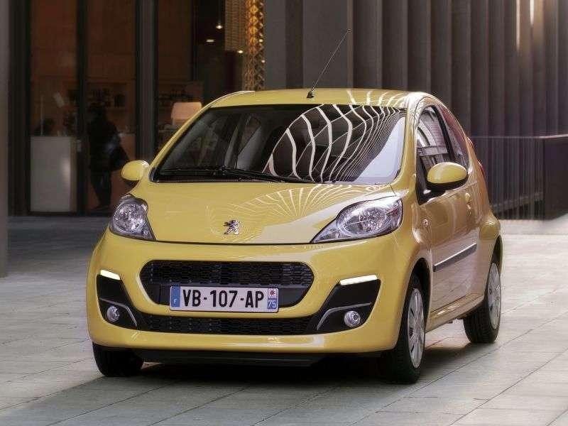 Peugeot 107 1st generation [2nd restyling] 3 bit hatchback 1.0 MT Access (2013) (2012 – present)
