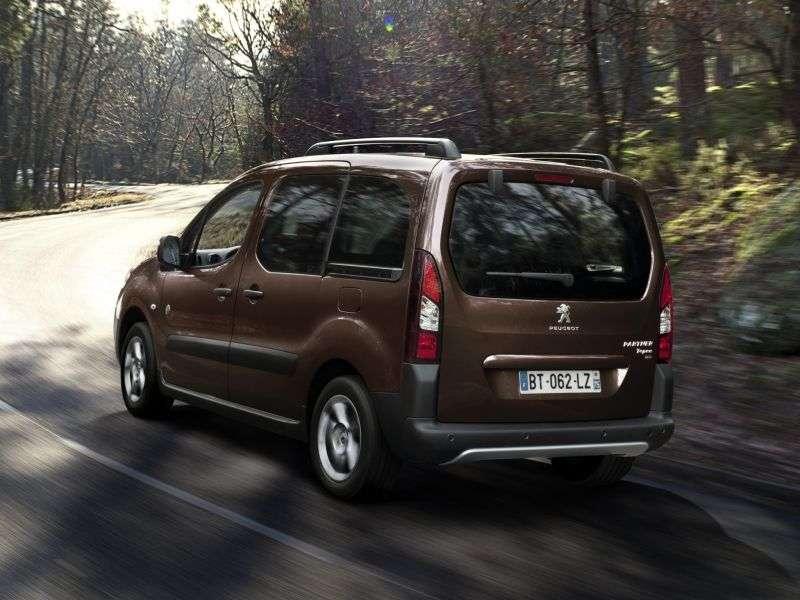 Peugeot Partner Tepee [restyled] VP minivan 1.6 MT Active (2012) (2012 – n.)