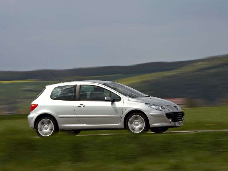 Peugeot 307 1st generation [restyling] 3 bit hatchback 2.0 AT (2005–2008)