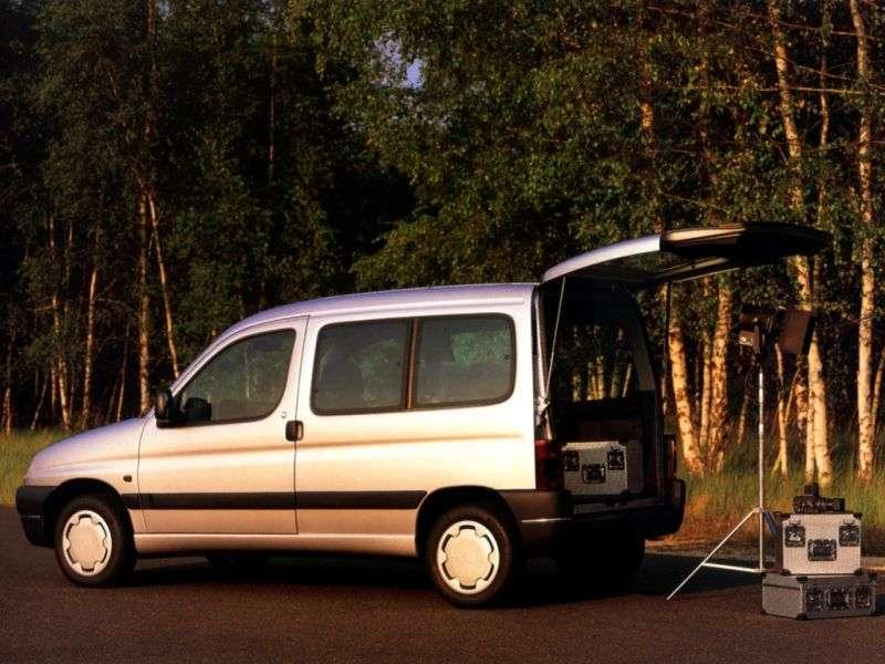 Peugeot Partner 1st generation minivan 1.8 MT (1996–2002)