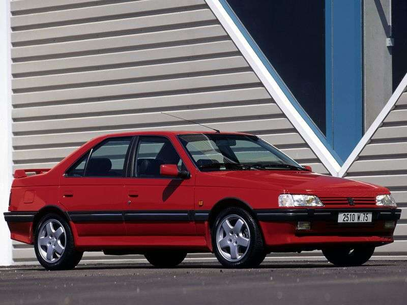 Peugeot 405 1st generation [restyled] 2.0 MT sedan (1994–1995)