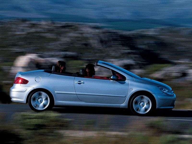 Peugeot 307 1st generation Convertible 2.0 AT (2003–2005)