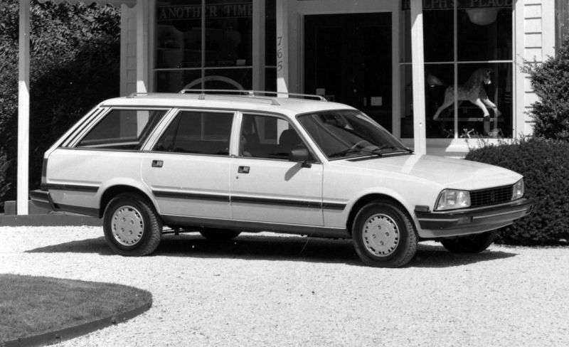 Peugeot 505 1st generation [restyled] station wagon 2.0 AT (1986–1988)