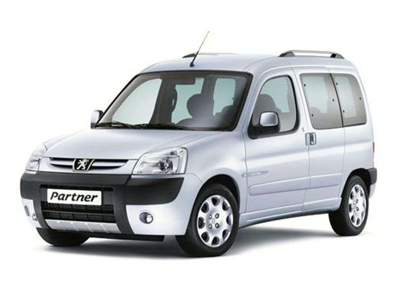 Peugeot Partner OriginVP minivan 1.4 MT XR (2002–2012)