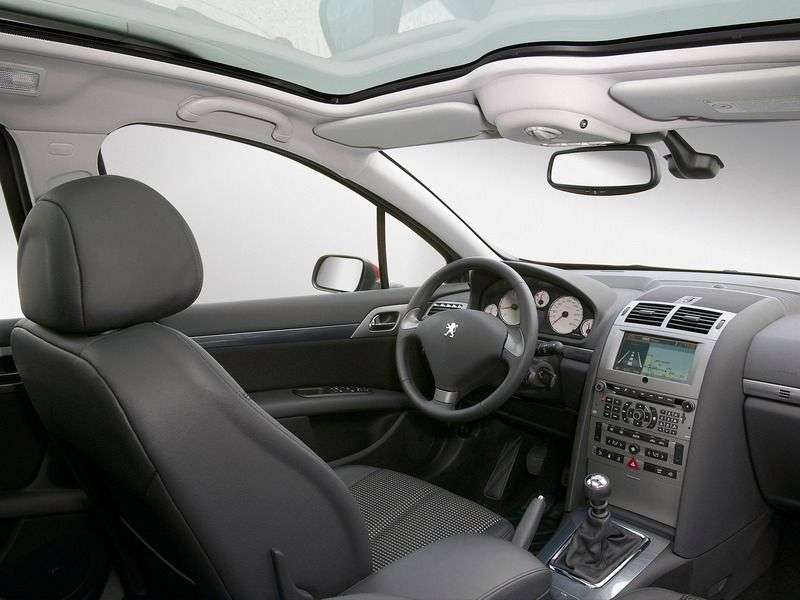 Peugeot 407 1st generation wagon 2.0 MT (2004 – n. In.)