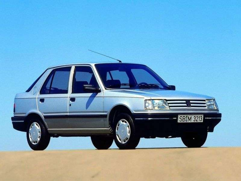 Peugeot 309 1st generation [restyled] hatchback 1.9 AT (1989–1993)