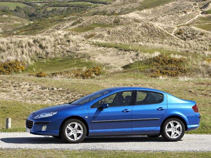 Peugeot 407 1st generation 1.6 HDi MT sedan (2004 – n.)