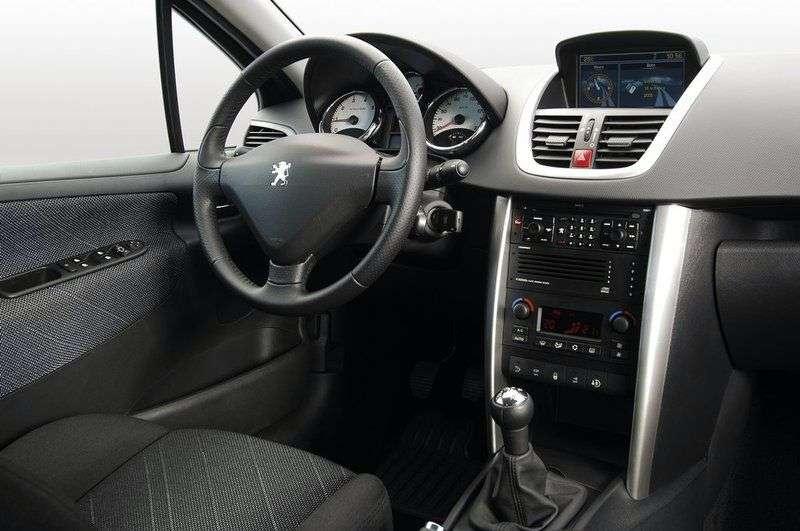 Peugeot 207 1st generation [restyling] 5 bit hatchback 1.4 MT Active (2009 – n. In.)