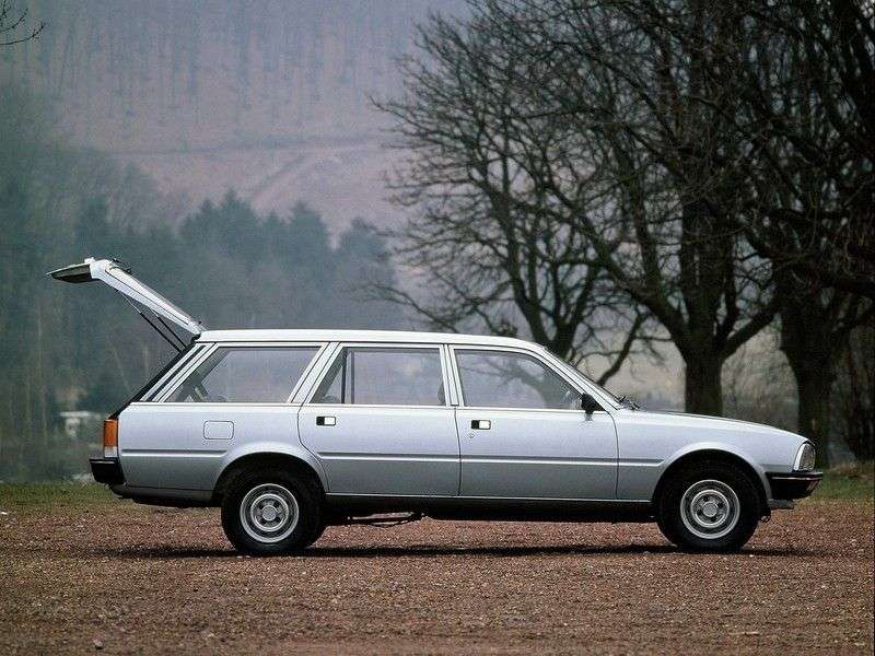 Peugeot 505 1st generation wagon 2.5 D MT (1982–1985)