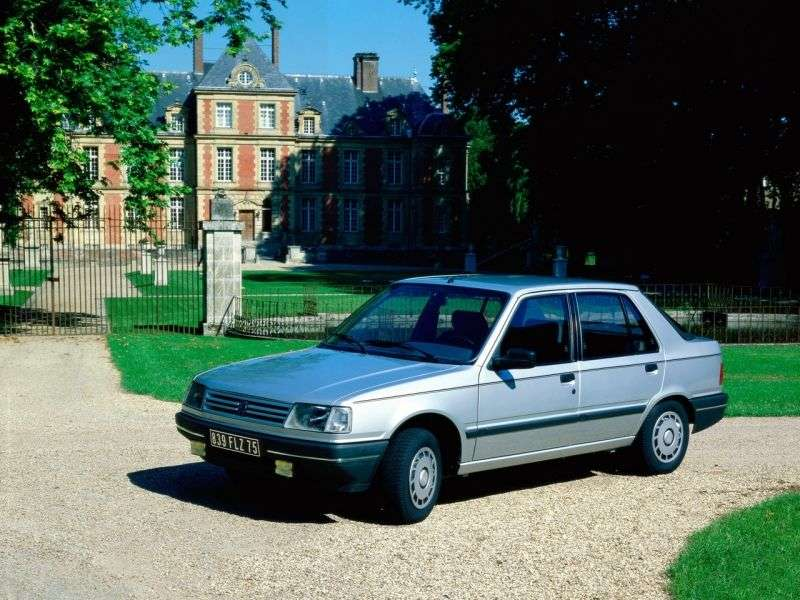 Peugeot 309 1st generation [restyled] hatchback 1.9 AT (1990–1993)