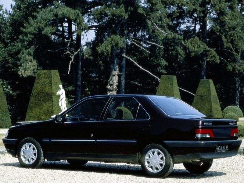 Peugeot 405 1st generation 1.6 MT sedan (1987–1992)
