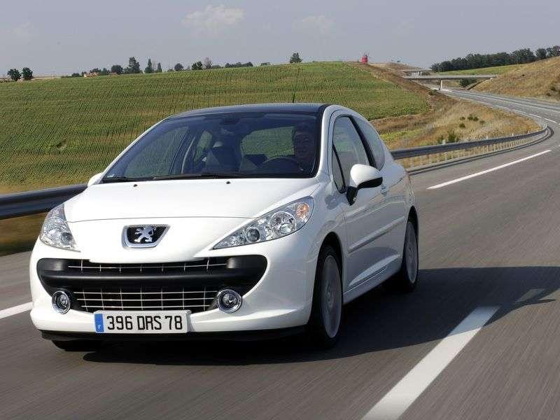 Peugeot 207 1st generation 1.4 MT hatchback (2006 – present)