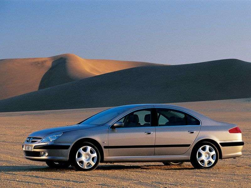 Peugeot 607 1st generation 2.2 HDi MT sedan (2000–2004)