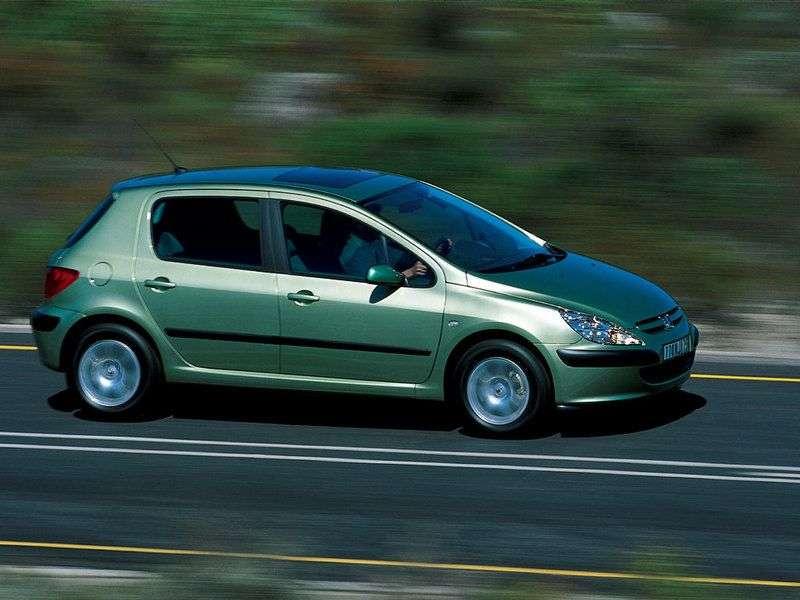 Peugeot 307 1st generation hatchback 5 bit. 1.6 MT (2001–2005)