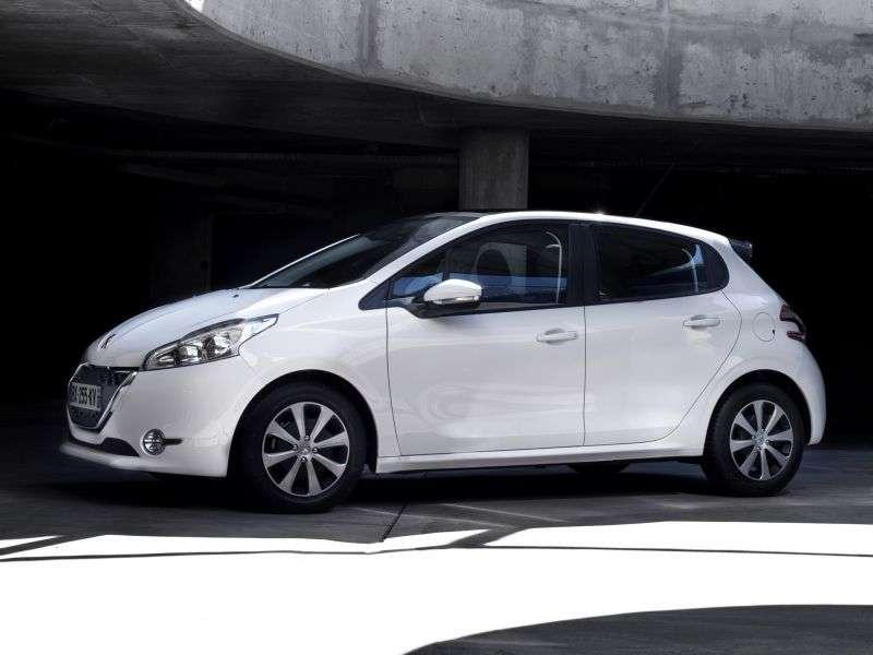 Peugeot 208 1st generation hatchback 5 dv. 1.6 VTi MT (2012 – n. In.)
