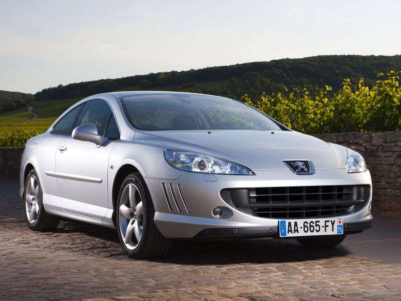 Peugeot 407 1st generation coupe 3.0 MT (2005 – n. In.)