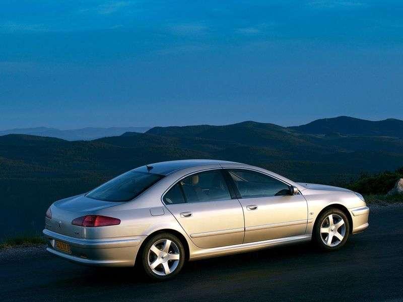 Peugeot 607 1st generation [restyled] 2.2 TDi MT sedan (2004–2008)