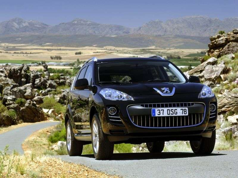 Peugeot 4007 1st Generation Crossover 2.0 CVT 4x4 Allure (2012) (2007 – current century)