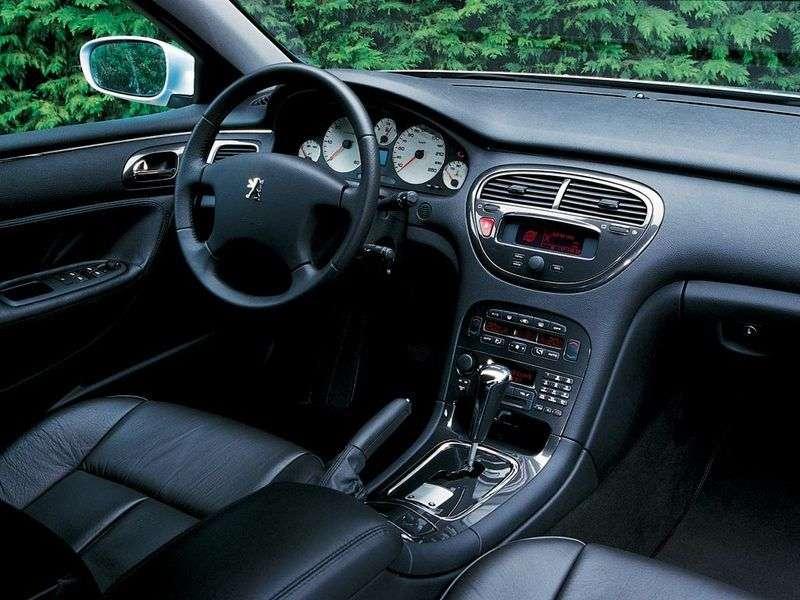 Peugeot 607 1st generation 2.2 HDi AT sedan (2000–2004)